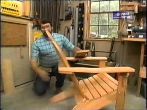 Adirondack Chair Plans New Yankee Workshop Woodworking