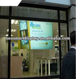 ~adhesive rear projection screen film