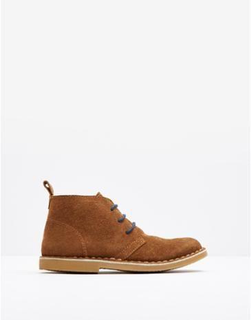 JNR BARKBY Boys Desert Boots