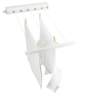 Brabantia Retractable Washing Line- is suitable for indoor use and is only seen when needed!