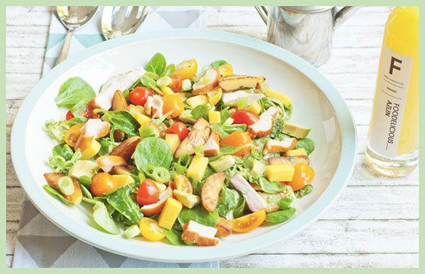Op zoek naar een fris, gemakkelijk salade recept? Feestprints maakte een selectie van de 11 beste zomerse salade recepten die online te vinden zijn!