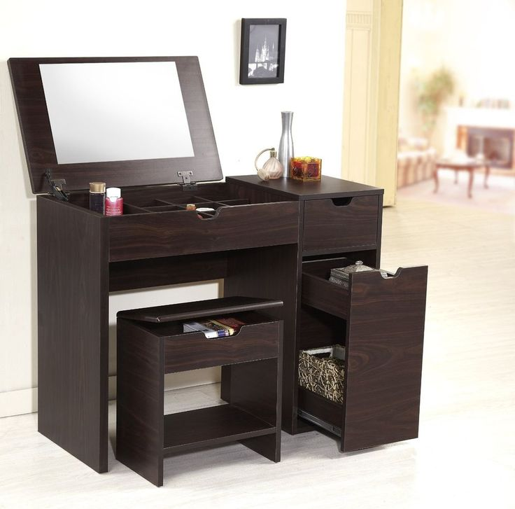 Jessica Furniture Makeup Vanity With Lights : 25+ best ideas about Vanity Desk on Pinterest Makeup vanity desk, Makeup tables and Vanity ...
