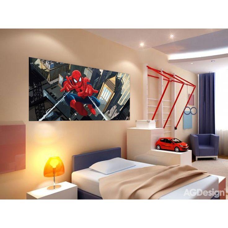 Pókember gyerekszoba poszter (202 cm x 90 cm)