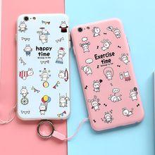 Citycase novo design 3d em relevo adorável rosa coelho phone case para iphone 6 6 s 6 plus com proteção câmera(China (Mainland))