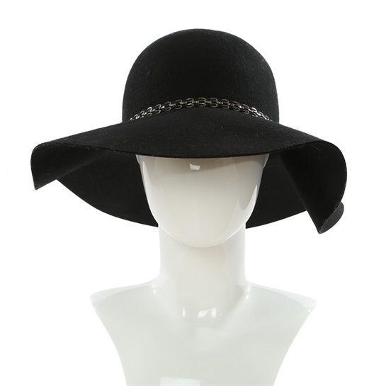 Capeline noire - Collection Casquette - chapeau - Pimkie France