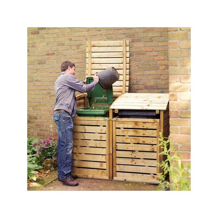 R sultat serres et trouv sur google abri bois - Comment fabriquer un cache poubelle en bois ...
