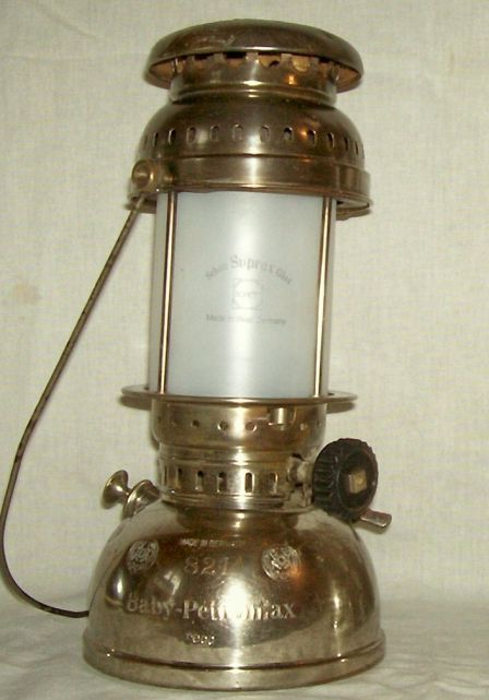821 Baby Petromax - Classic Pressure Lamps - The online resource for the collector & enthusiast