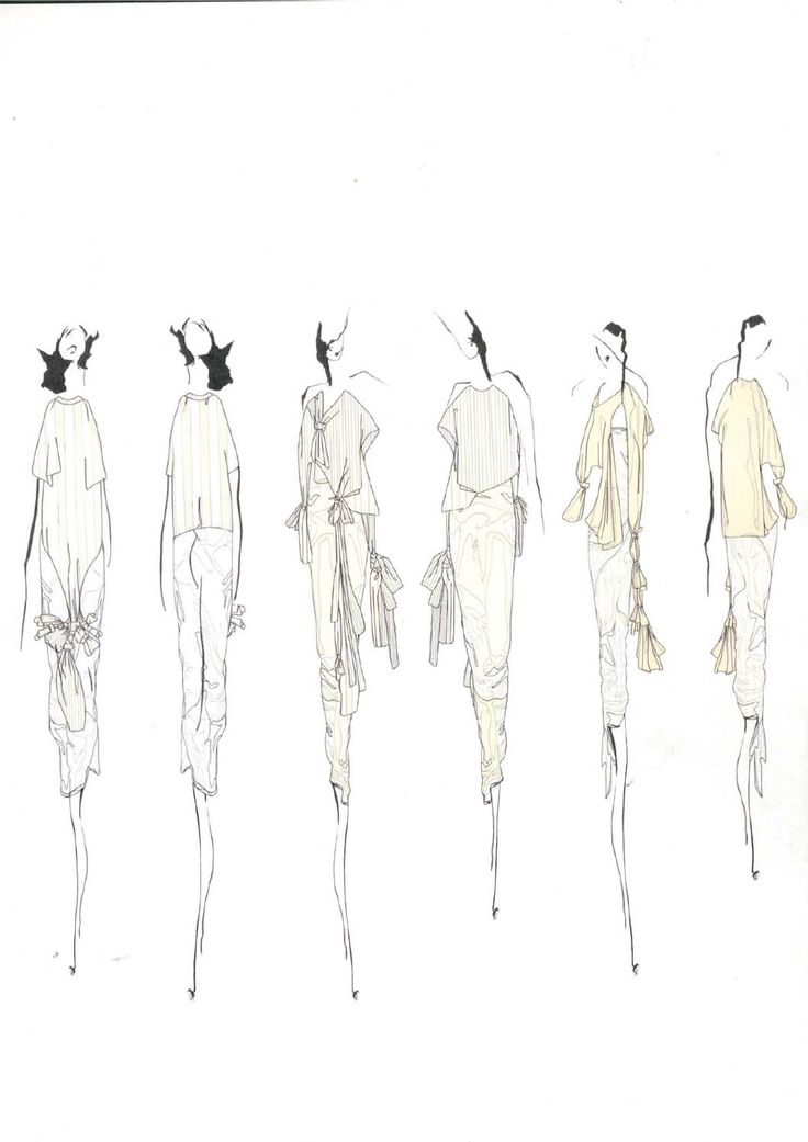 Fashion Sketchbook - fashion design sketches; collection development; fashion portfolio // Louise Alsop