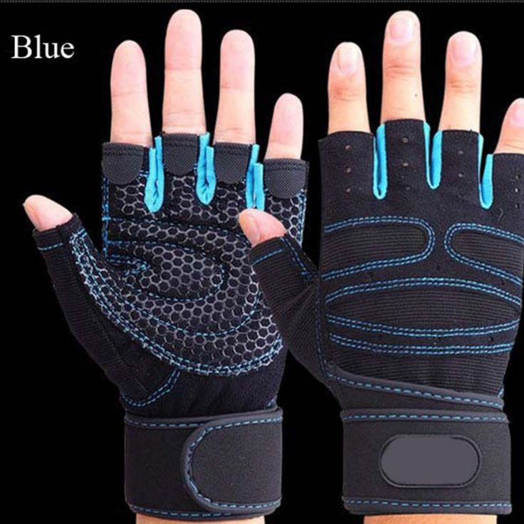 Half Finger Sports Gym Gloves Breathable Weightlifting Fitness Gloves Dumbbell Men Women Weight Lifting Gym Gloves Size M/L/XL