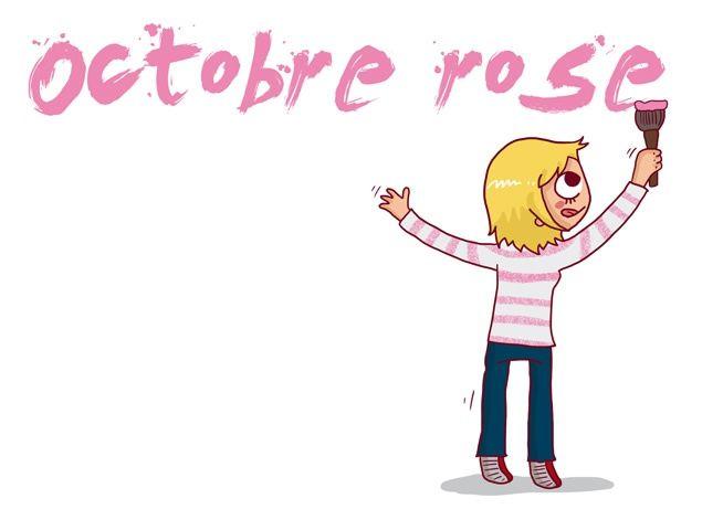 Octobre rose #octobrerose femme cancer du sein sante