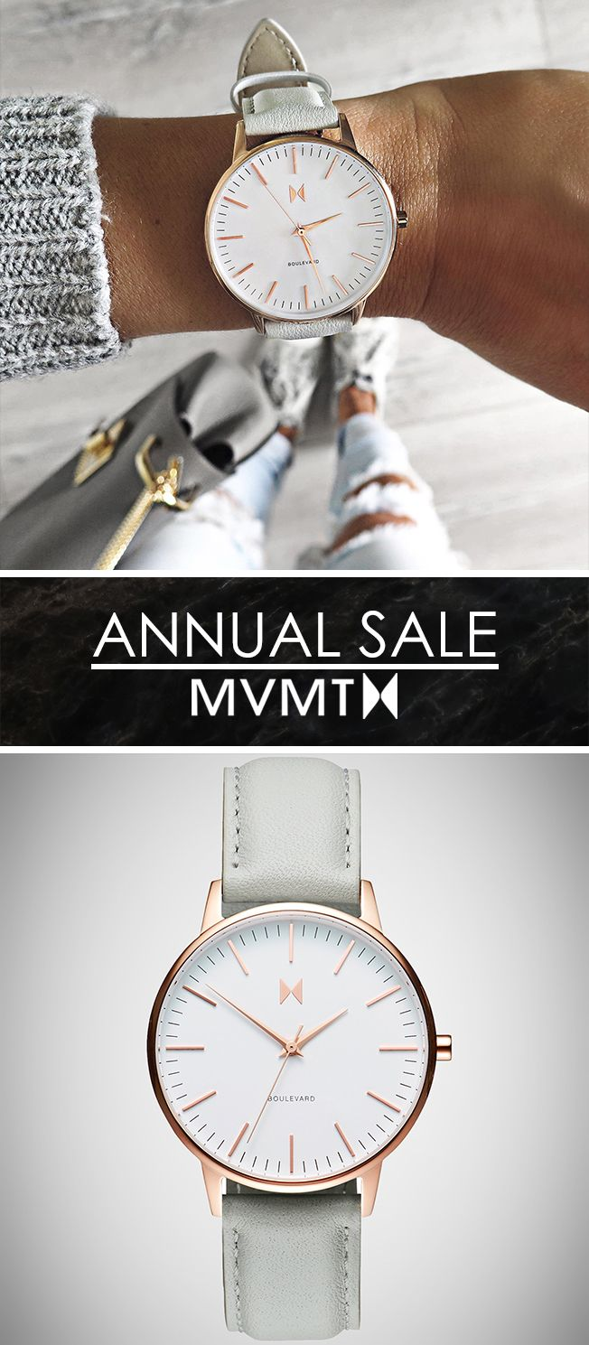 ANNIVERSARY SALE! As a thank you for being a part of the MVMT we are offering 15% off all watches!