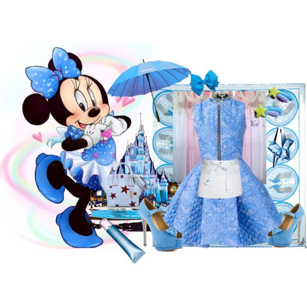 """Minnie Mouse"" by diaparsons on Polyvore"