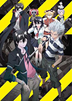 Summer 2013: Blood Lad by Brain's Base // Loved the first episode.  // FINISHED // OK... // ★★★★★★