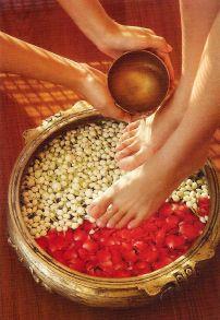 Blissful Foot Massage - Pada-Abhyanga