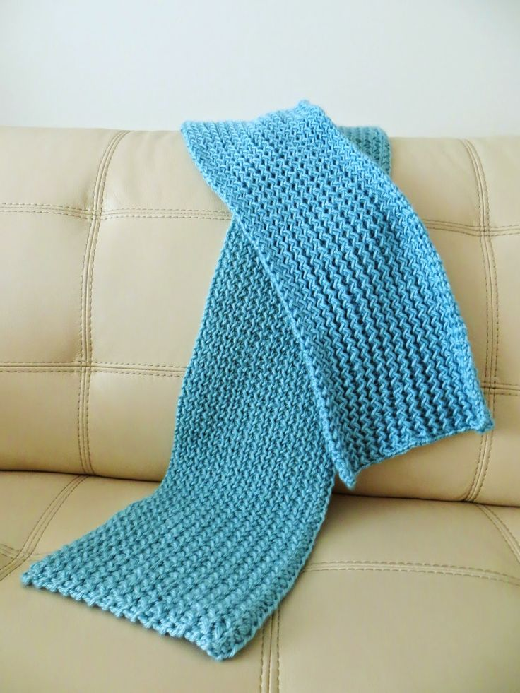 Diversion Showcase: Rick Rack Scarf