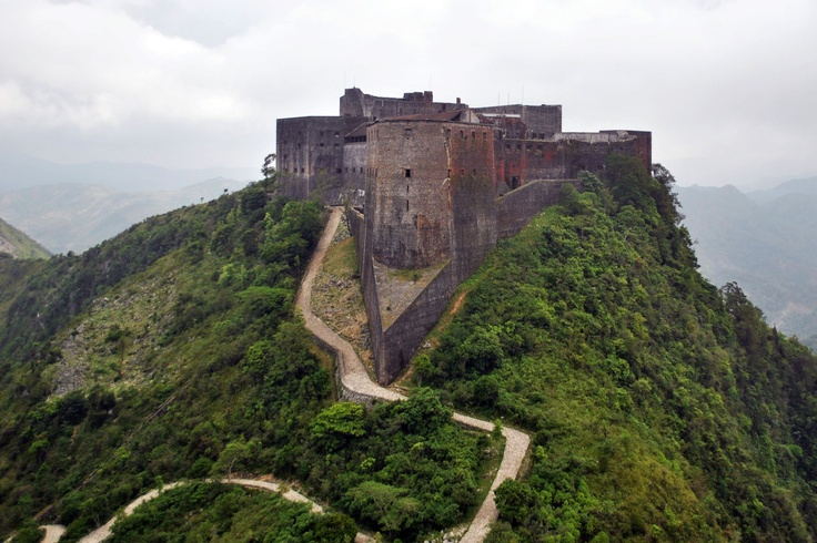 This is the Citadelle Laferrière. It is the largest fortress in the Americas and was designated by the United Nations Educational, Scientific and Cultural Organization (UNESCO) as a World Heritage Site in 1982. The mountaintop fortress has itself become an icon of Haiti. The Citadel was built by Henri Christophe, a key leader during the Haitian slave rebellion, after Haiti gained independence from France at the beginning of the 19th century.     #TheHaitiTheyNeverShow
