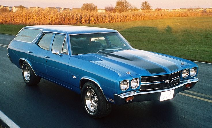 1970 Chevelle Wagon SS The wagon just doesn't seem right