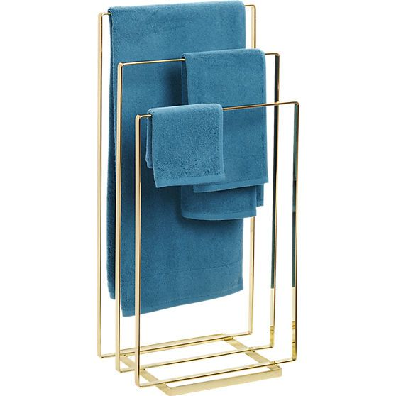 Modern bathroom accessories. With stylish bathroom storage, towel racks, bath mats and accessories from CB2, you can create a bathroom that's sleek, chic and functional.