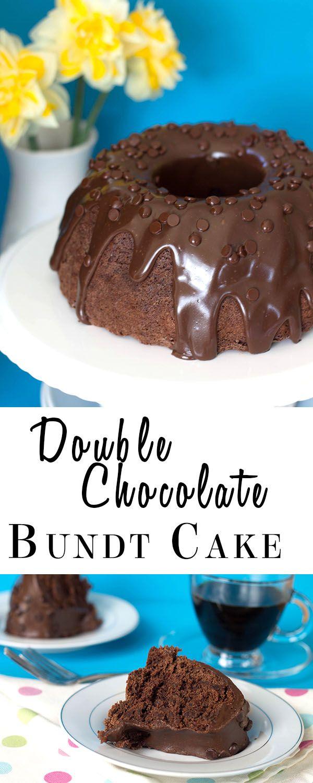 Double Chocolate Bundt Cake    #dessert #foodie #dan330 http://livedan330.com/2015/04/29/double-chocolate-bundt-cake/
