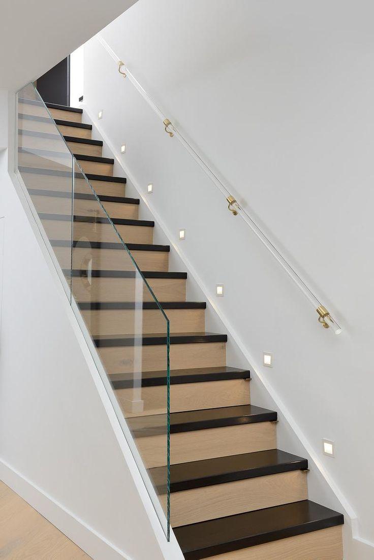 Best Custom Lucite Handrail Polished Brass Satin Brass 640 x 480