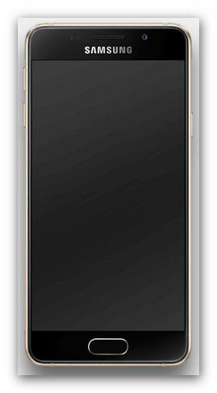 Samsung Galaxy A3 2016 von vorne
