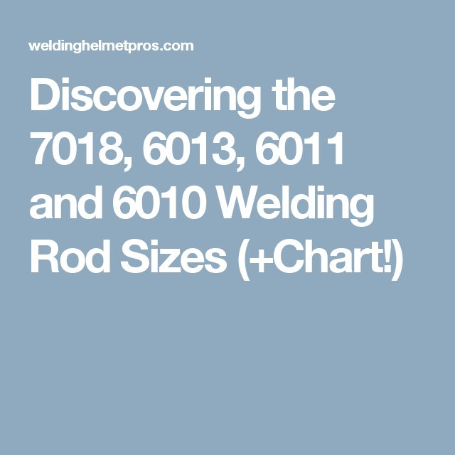 types of welding rods pdf
