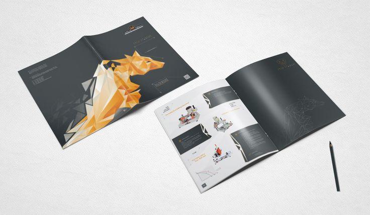 Wolftech_machine_katalog tasarımı kapak ve iç sayfa