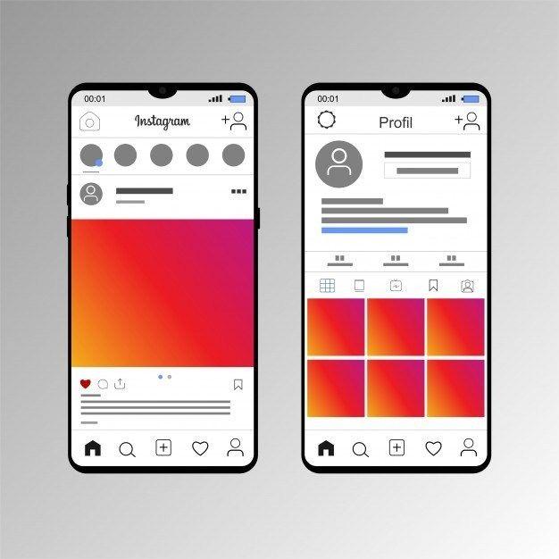 50 Easy To Edit Instagram Mockup Instagram Mockup Instagram Application Design Mockup Free