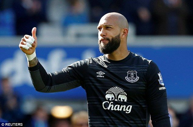 Goalkeeper Tim Howard has said his goodbyes to Everton and others could follow him out the...