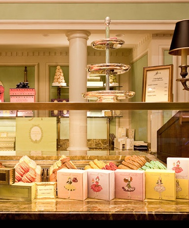 Les Maisons Laduree ...I love this place ...its pretty and its filled with sweet delicacies , whats not to love!