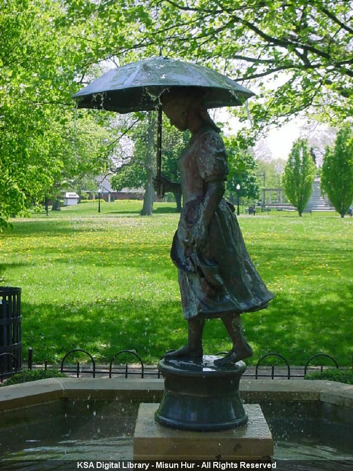 schiller park girls Chiseled in granite in the promenade that encircles the gardens are quotes from schiller,  describes the history of schiller park's umbrella girl as one of .