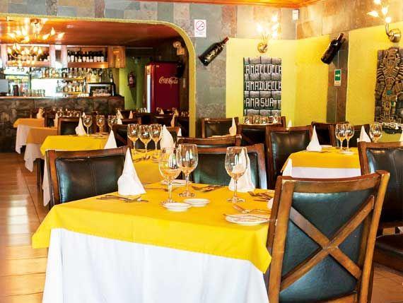 Machu Picchu   Guía de Restaurantes Peruanos en Chile