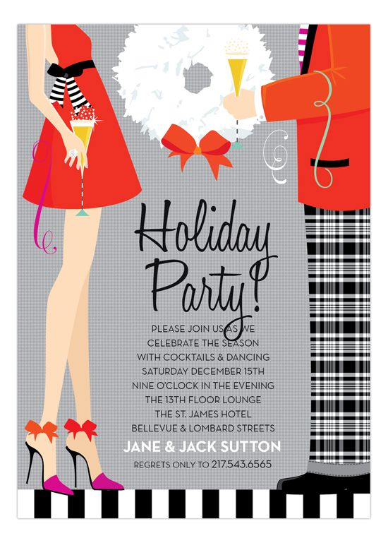 135 best images about Christmas Party Invitations – Invitations Christmas Party