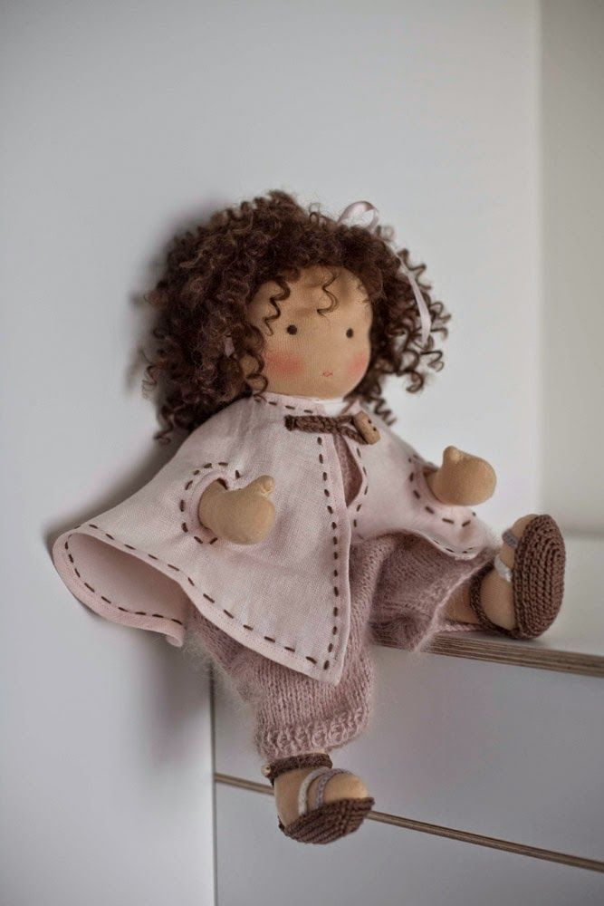 dolls friends: mohair weft