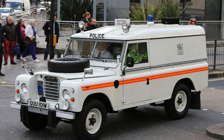 Police cars of yesteryear