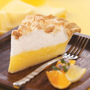 Florida Citrus Meringue Pie Recipe from Taste of Home