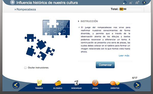 Proyecto BCV e-learning module on Behance