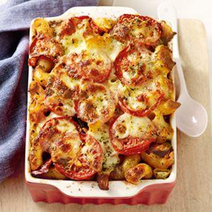 Mozzarella - Ovenpasta met groenten - Allerhande