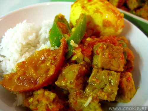 Tempe telur bumbu woku | cookle.at