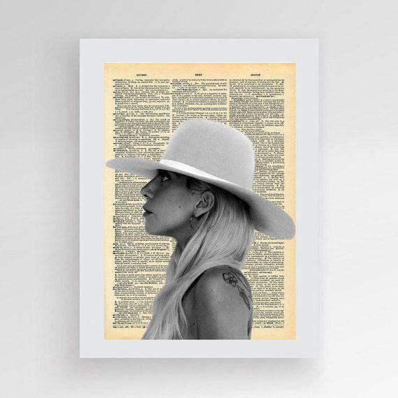 Instant download Lady Gaga Joanne Digital print by photoplasticon