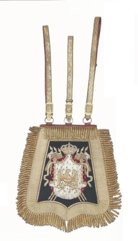 Sabretache du prince Eugène de Beauharnais Saint Pétersburg, musée de l'Ermitage