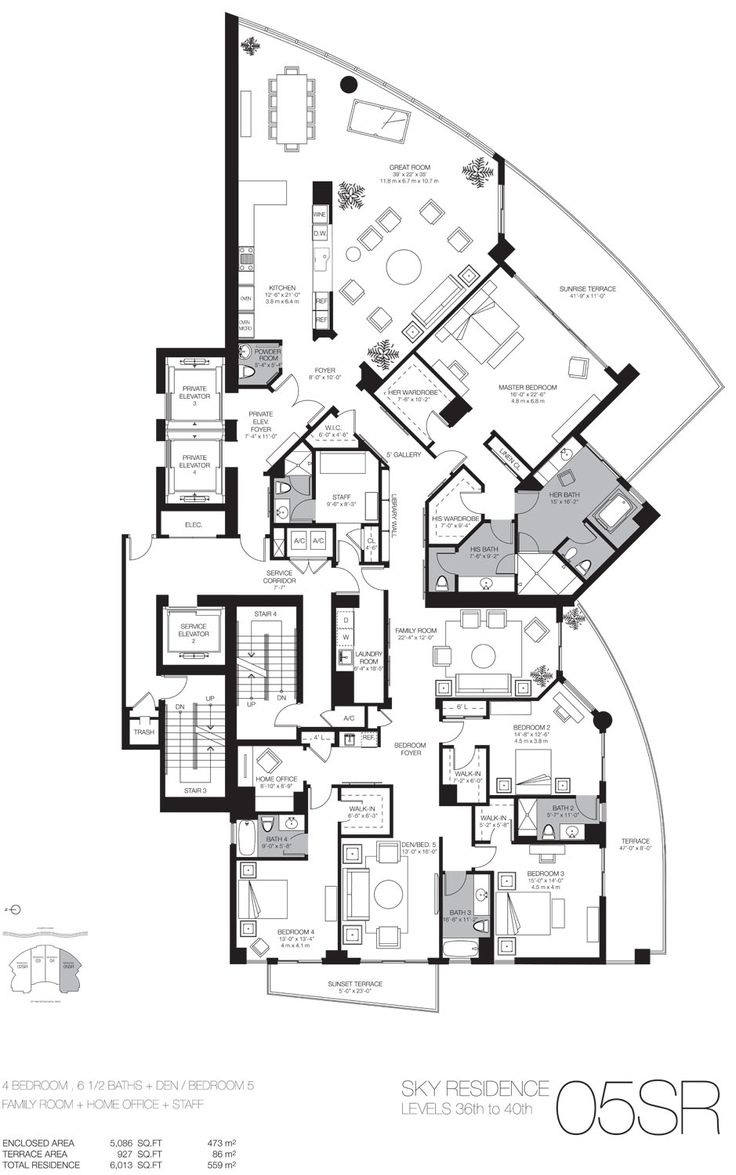 Luxury Homes Plans