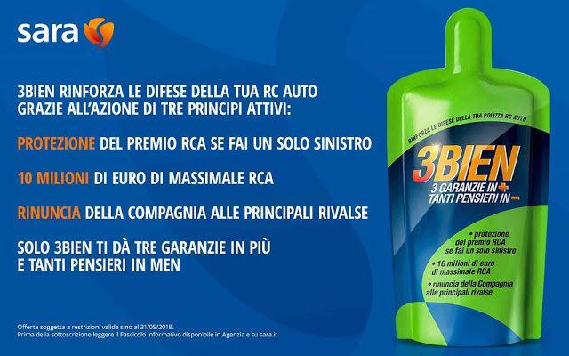 I consigli di Rocco,esperienze di ristoranti,alberghi,viaggi e dei prodotti testati: Sara Assicurazioni lancia 3BIEN 3 volte più garanz...
