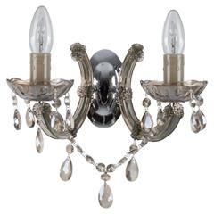 GLASS/pLASTIC WALL LAMP 30X22X25