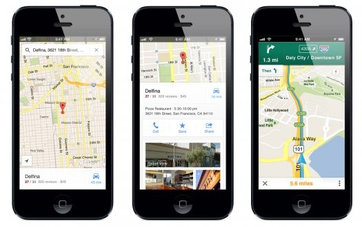iPhone owners let's raise our glasses to Apple Maps