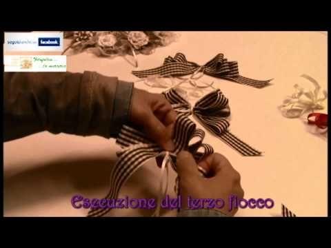 FILOFOLLIA LA MERCERIA - Realizzazione di fiocchi decorativi [Produzione: SQUARE PICTURES] - YouTube