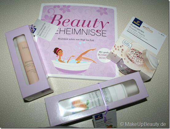 Vorschau auf die neuen Tchibo Beautyprodukte