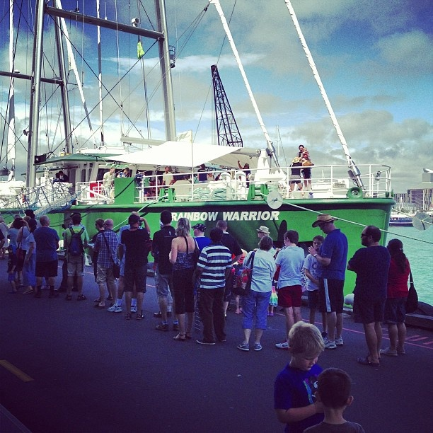 First open boat day in Auckland - AMAZING turnout! https://www.facebook.com/events/391605144257532/