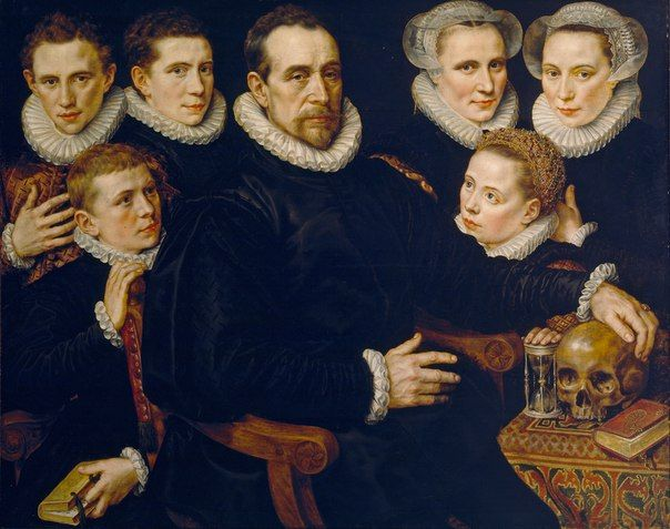 Adriaen Thomasz Key Family portrait, 1583
