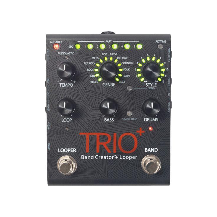 Digitech Trio Plus Band Creator + Looper Pedal